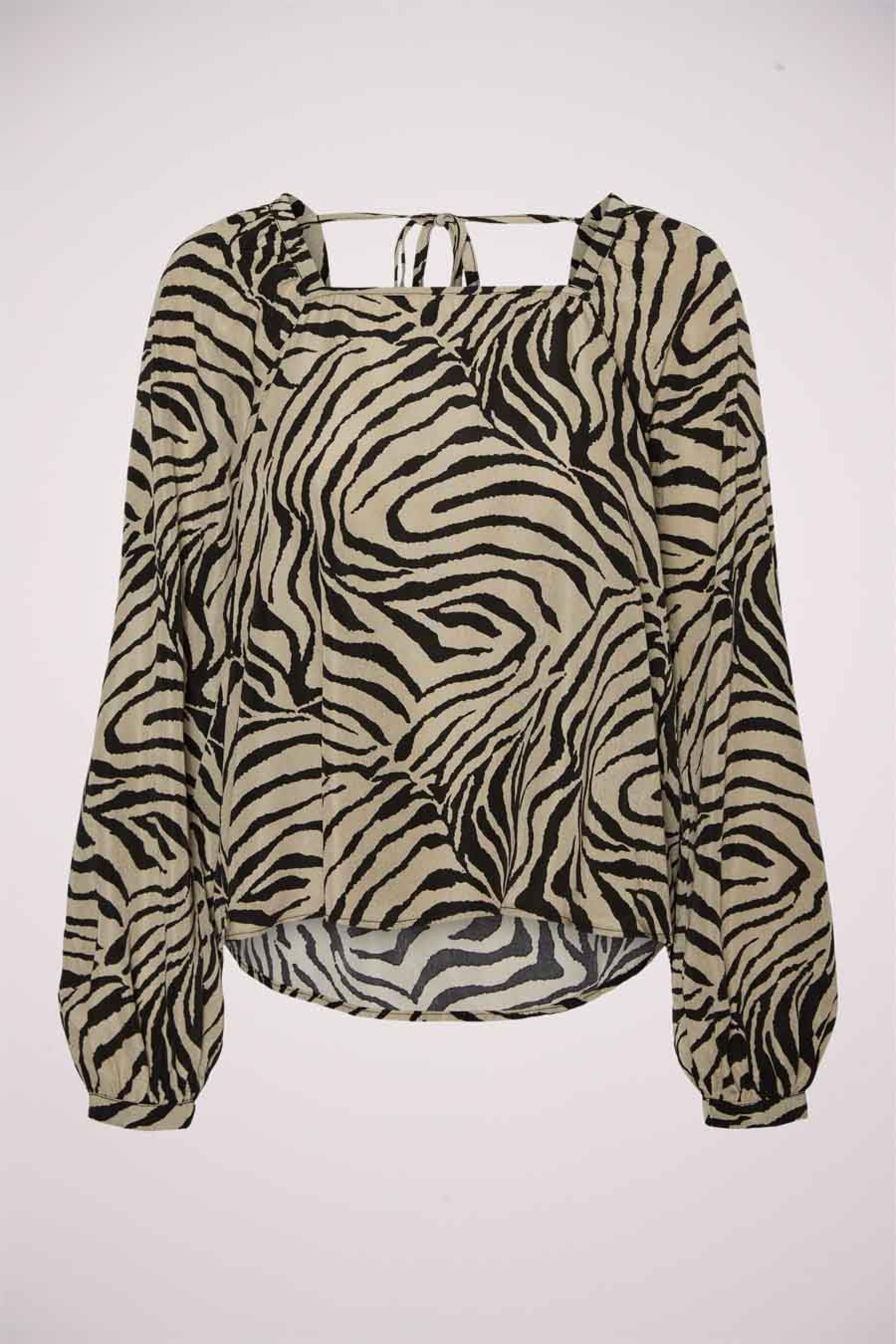 Vero Moda® Blouse lange mouwen, Multicolor, Dames, Maat: S/XS