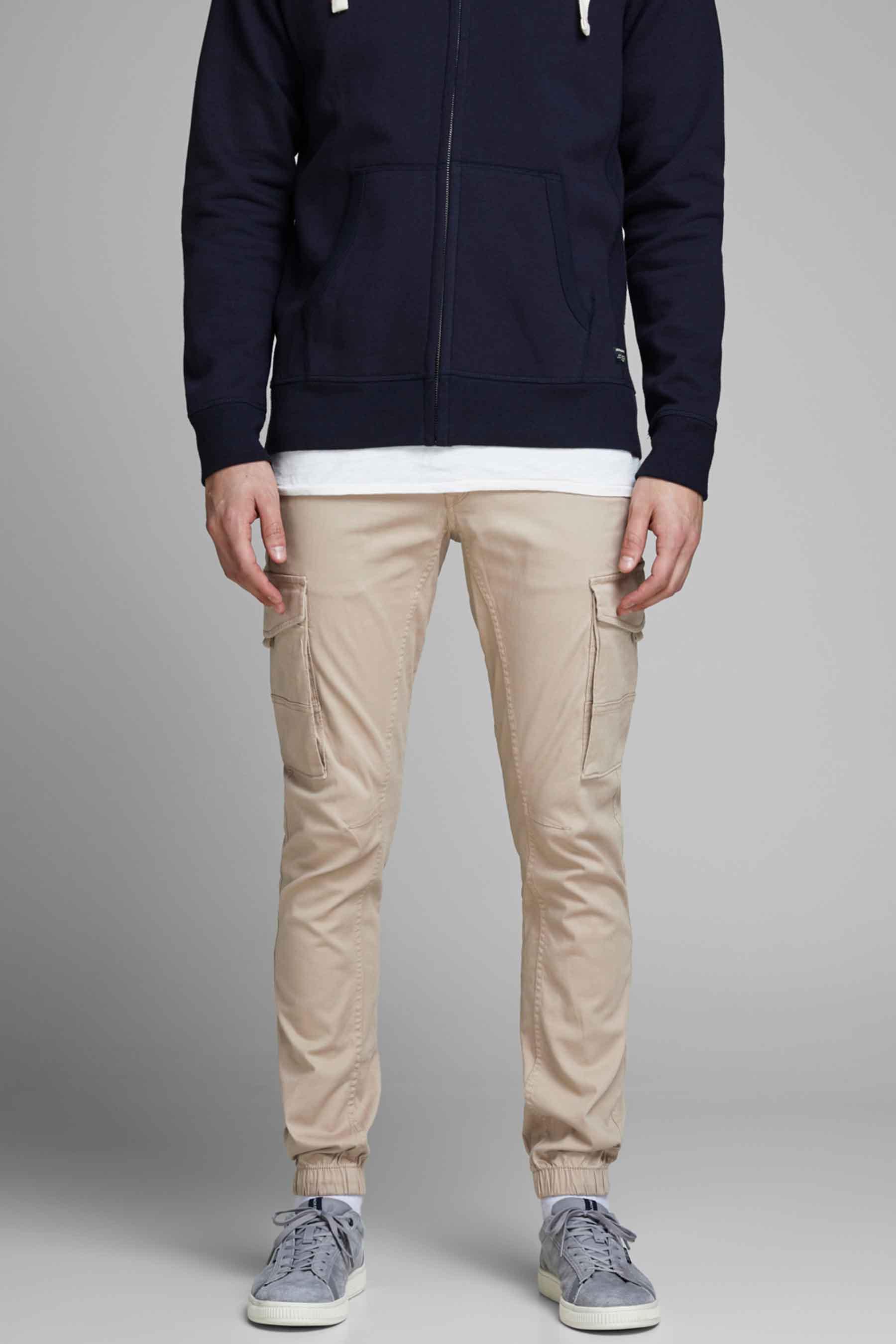 Jack & Jones Jeans Intelligenc Broek, Wit, Heren, Maat: 30x36/32x36/33x30/33x36/