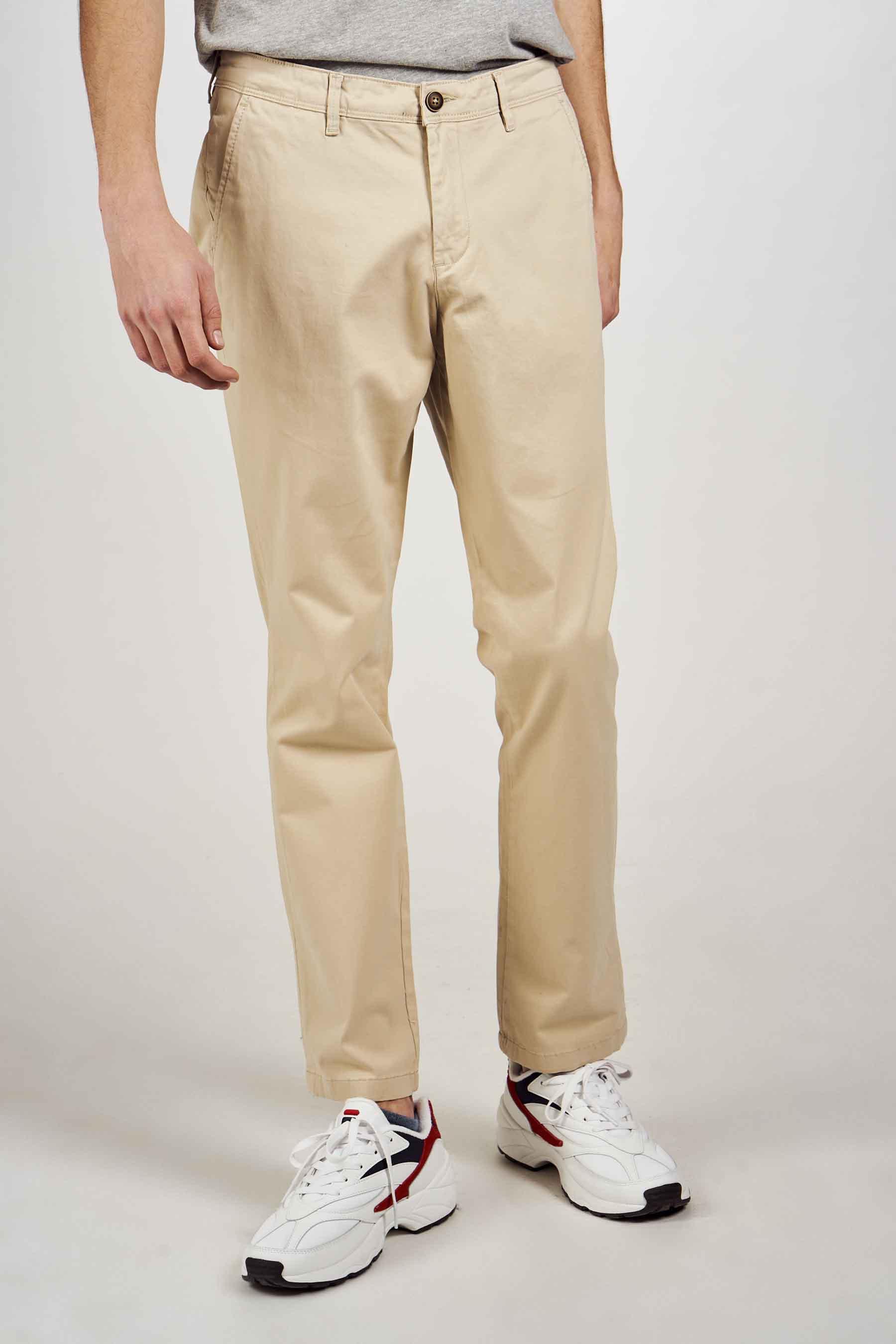 Jack & Jones Jeans Intelligenc Chino, Wit, Heren, Maat: 28x32/29x32/29x34/30x32/