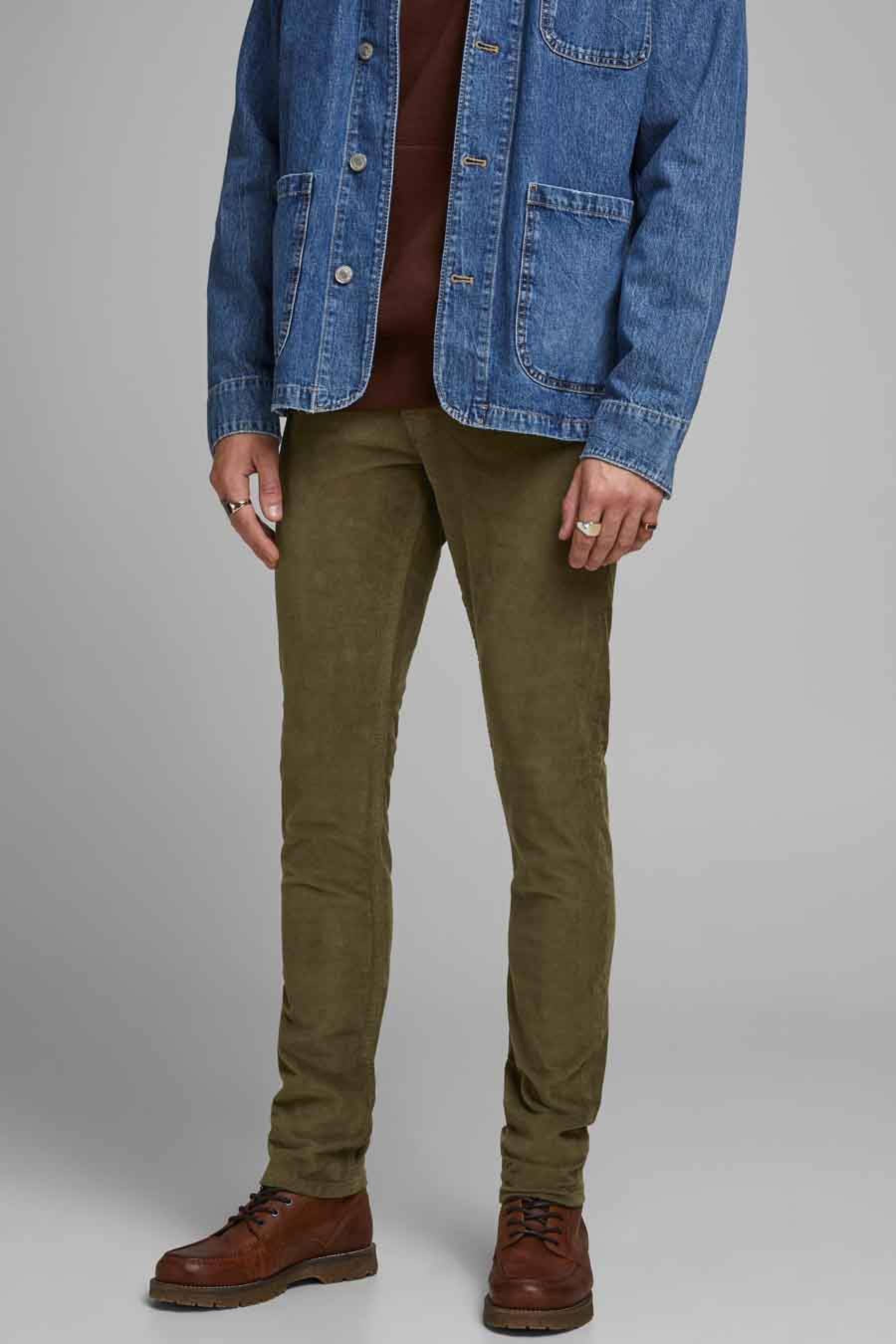 Jack & Jones Jeans Intelligenc Broek, Bruin, Heren, Maat: 28x32