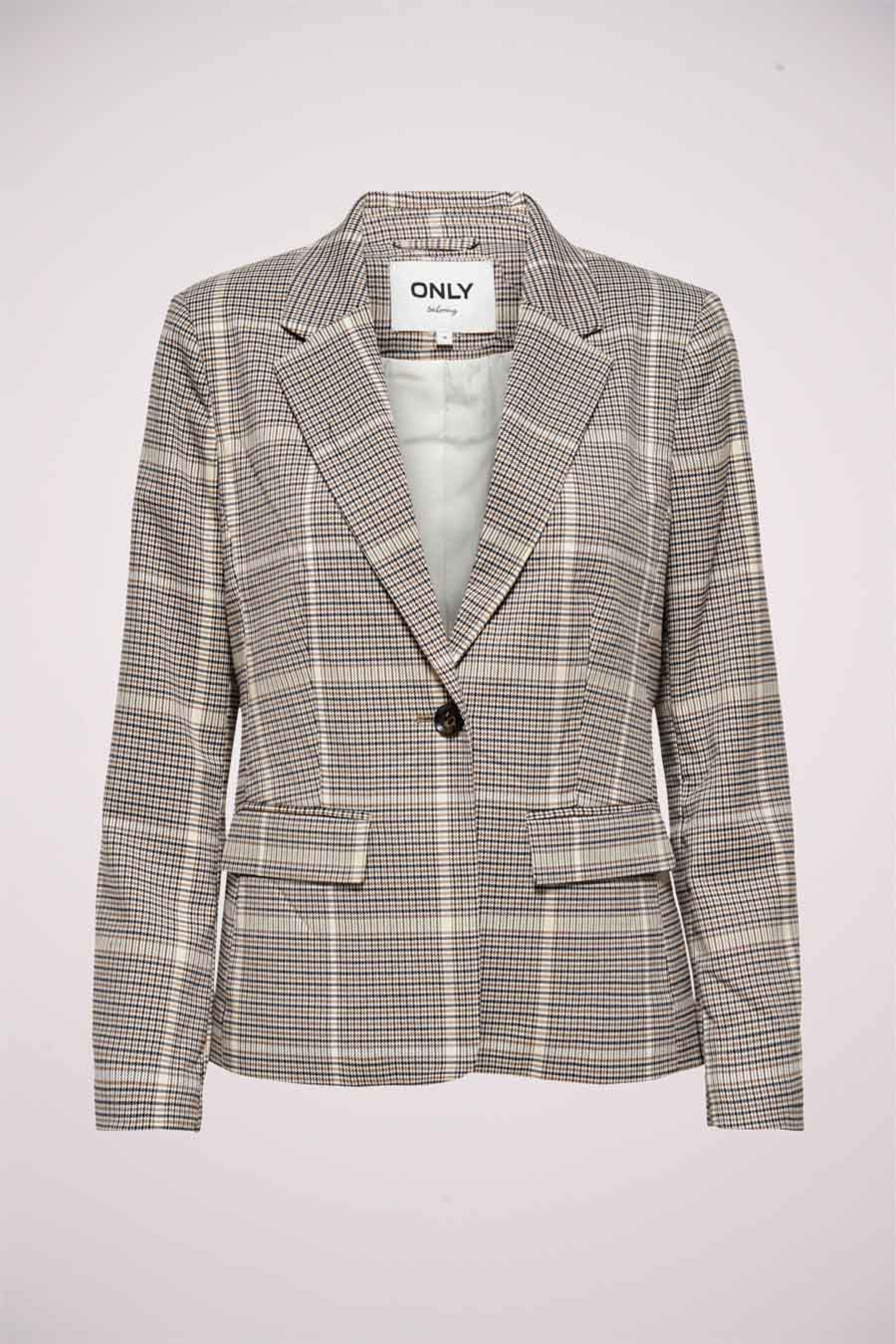 ONLY Blazer, Wit, Dames, Maat: 36/38