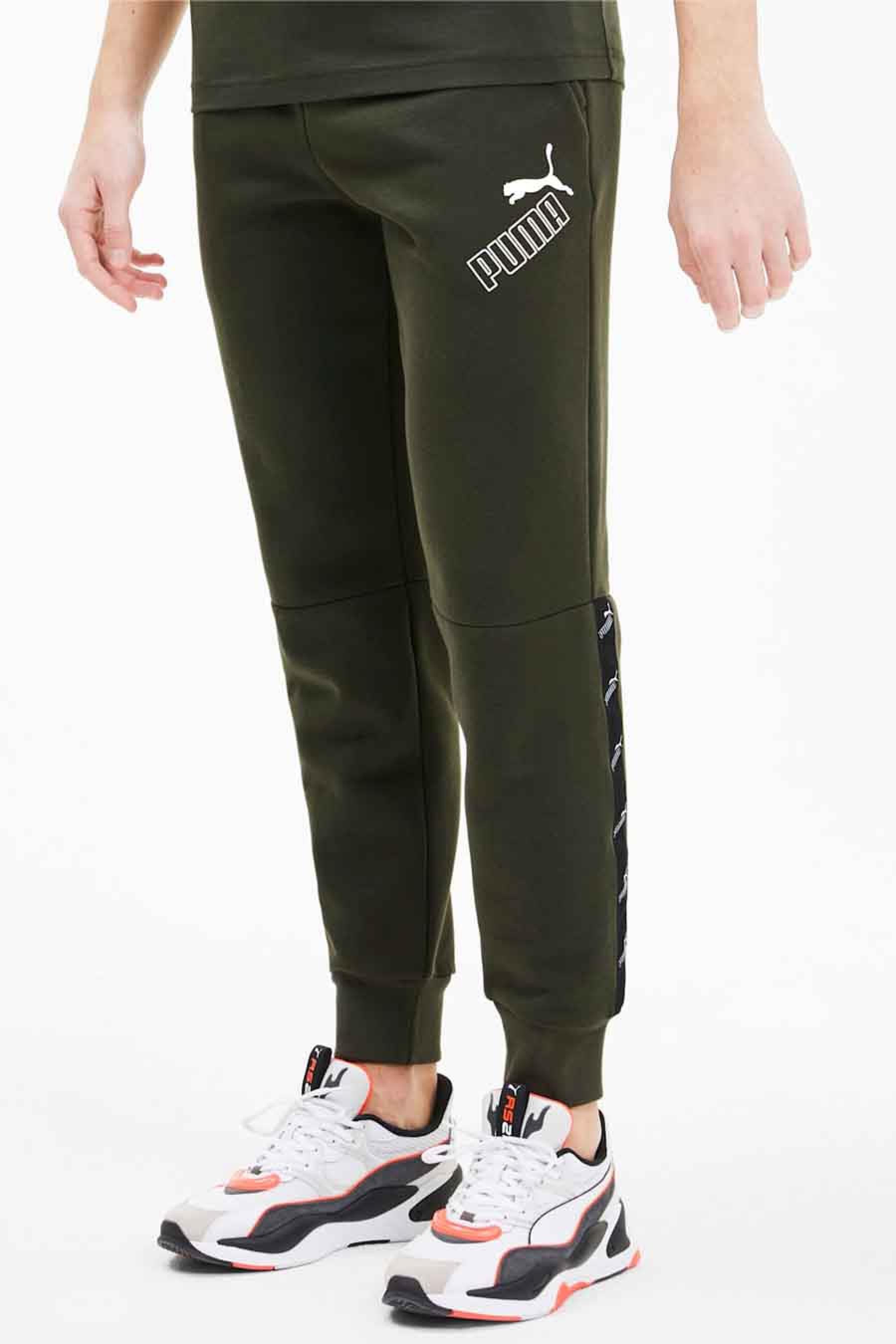 Puma Jogging, Groen, Heren, Maat: S