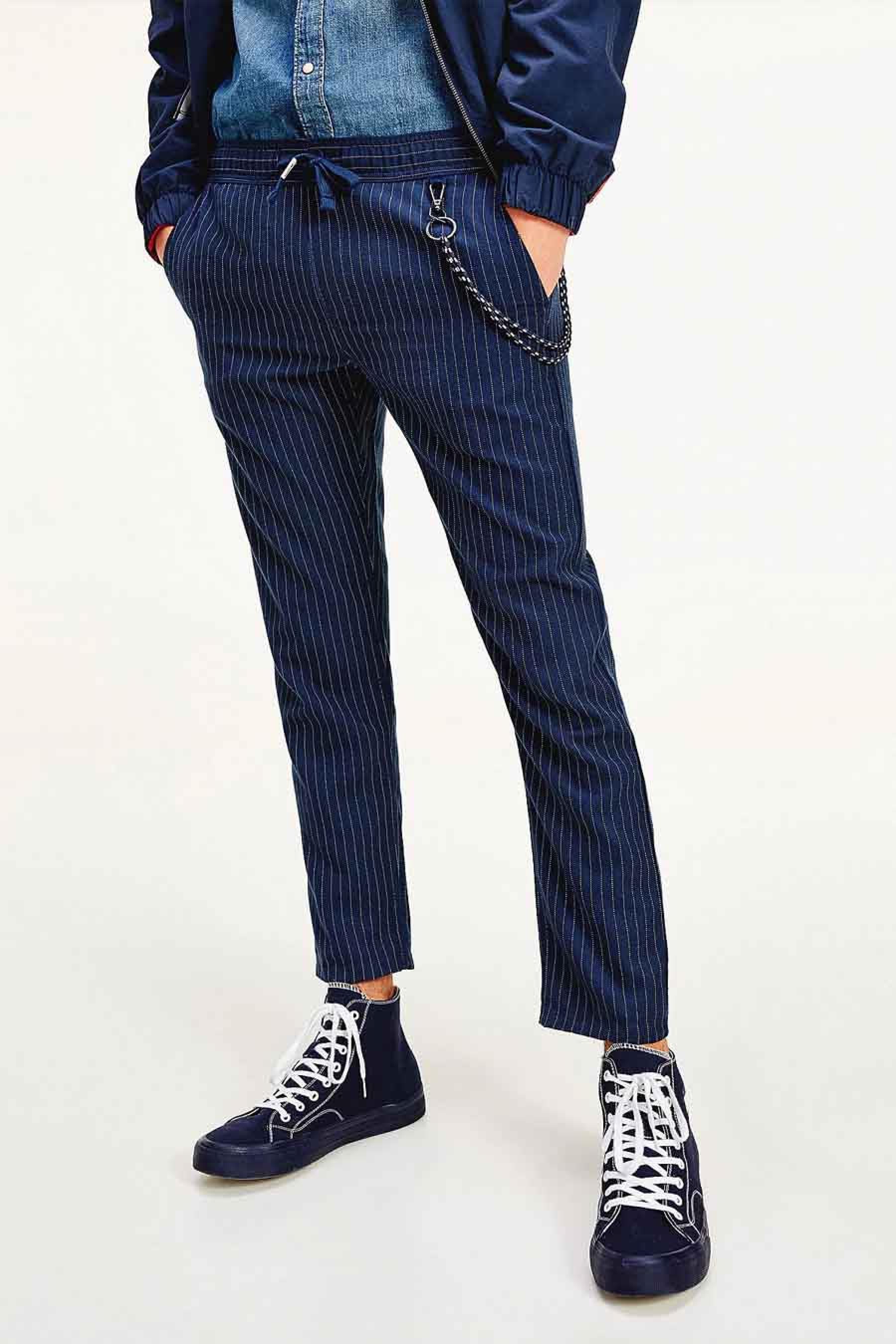 Tommy Jeans Broek, Blauw, Heren, Maat: L/M/S/XL/XS