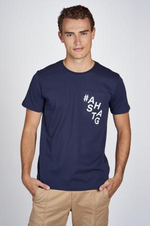 CEMI by Céline Dept & Michiel Callebaut T-shirts (korte mouwen) blauw EMI202MT 010_NAVY img1