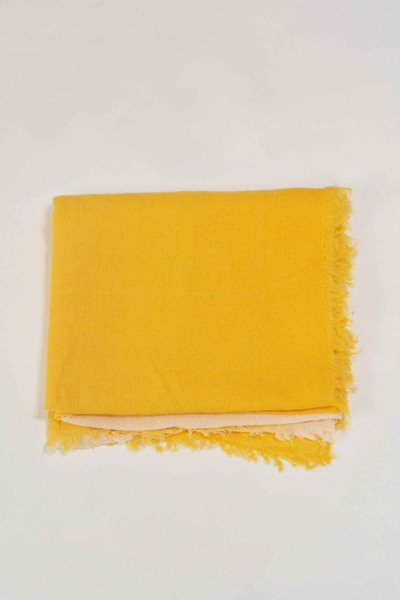 Zomersjaal - geel