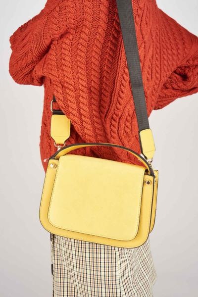 Handtas - geel