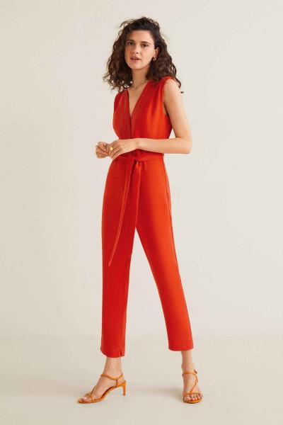 Jumpsuit - rood