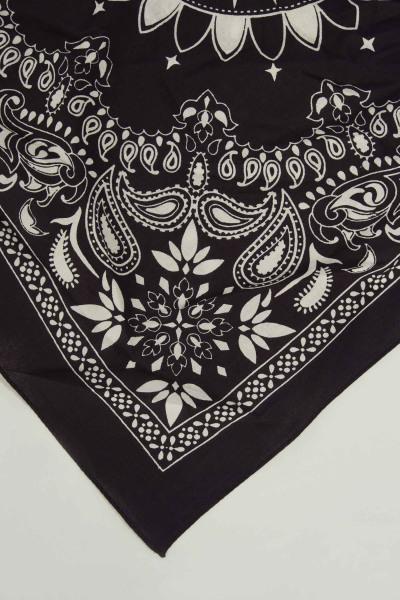Zomersjaal - zwart