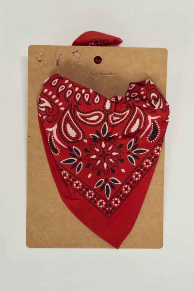 Zomersjaal - rood