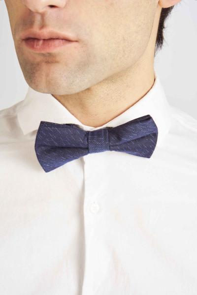 Strikje - blauw