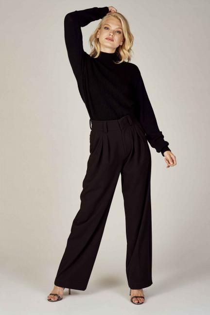 Pantalon costume - noir