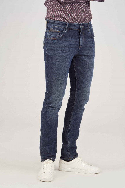 Slim AEDAN blue denim