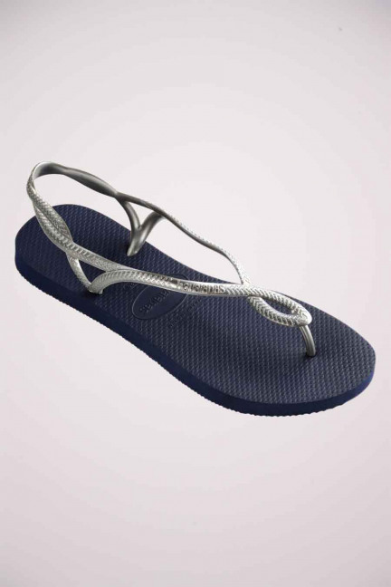 Slippers - blauw