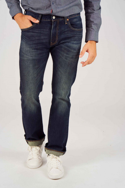 527 SLIM BOOT CUT_0562 BLUE DENIM