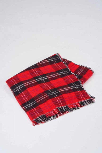 Wintersjaal - rood