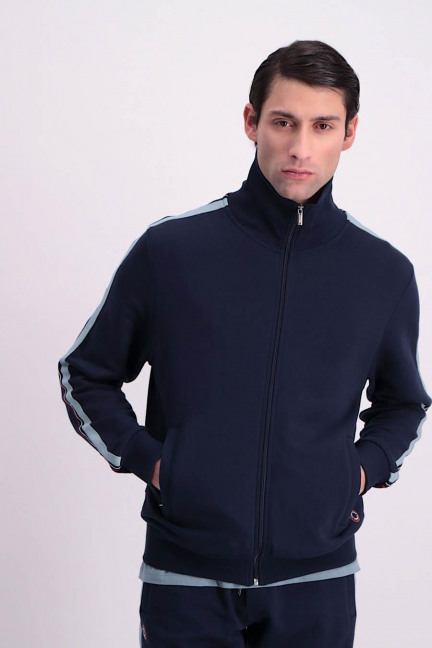 CCM GIL TRACK SUIT_NAVY BLUE