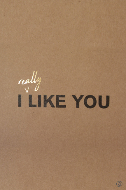I REALLY LIKE YOU