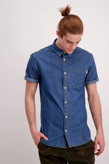 JORMALONE SHIRT SS_BLUE DENIM