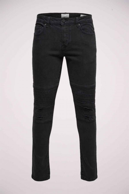 ONSSEAN SPUN BIKER_BLACK DENIM