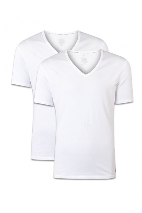 Calvin Klein T-shirts (korte mouwen) wit 0000U8511A 2P_100WHITE img1