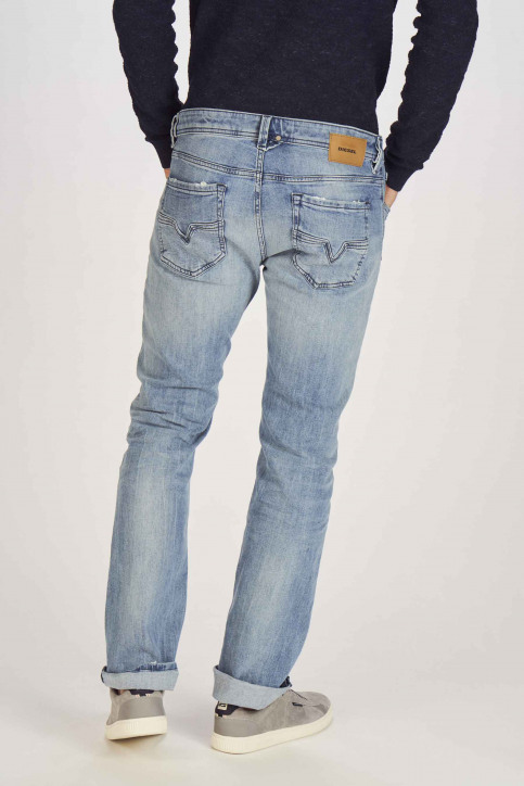 DIESEL Jeans straight denim 00C06 081AL_081AL LIGHTBLUE img3