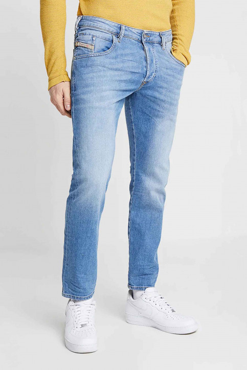 Diesel Jeans tapered denim 00SSL 087AQ_087AQ LIGHT BLU img1