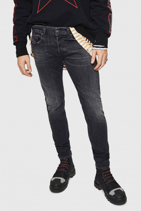 Diesel Jeans skinny denim 00SWJ 084AT_02 MID GREY img1