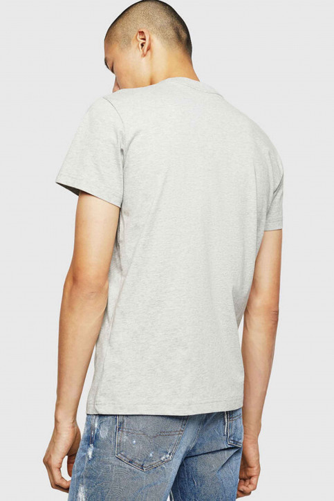 Diesel T-shirts (manches courtes) gris 00SXE 0091A_912 GRAY img2
