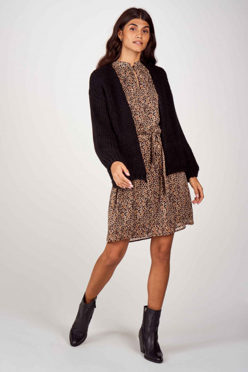 More & More Robes courtes brun 01093000_4269 CHOCOMULTI img2