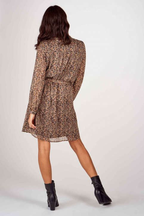 More & More Robes courtes brun 01093000_4269 CHOCOMULTI img3