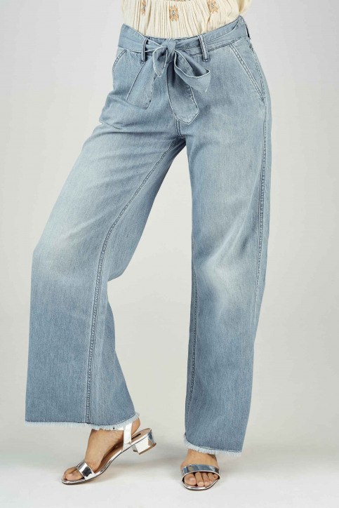 BSB Jeans wide denim 04121202290_90 LIGHT BLUE D img1