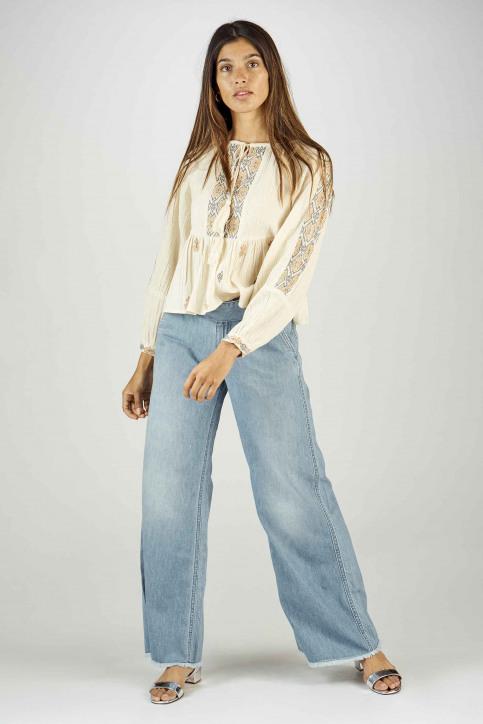 BSB Jeans wide denim 04121202290_90 LIGHT BLUE D img2
