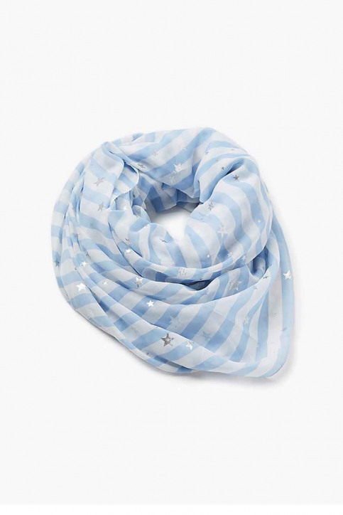 EDC Foulards bleu 077CA1Q006_440LIGHT BLUE img1