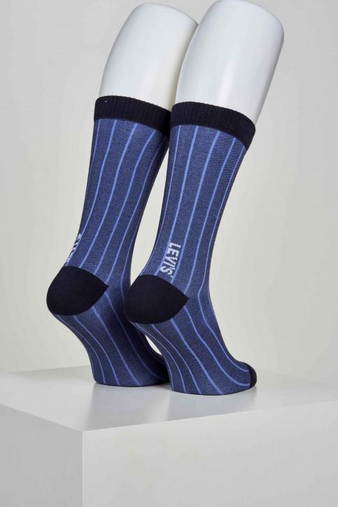 Levi's ® accessoires Sokken blauw 100000587005_005 BLUE CAVIAR img4