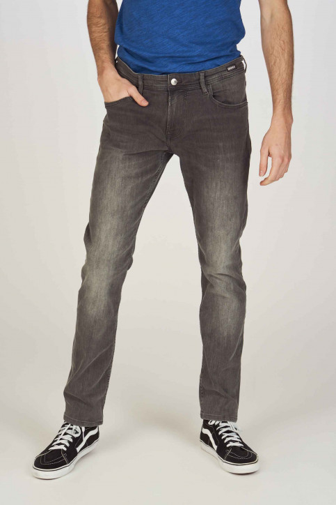 TOM TAILOR Jeans straight grijs 1008297_10210 MID GREY img1