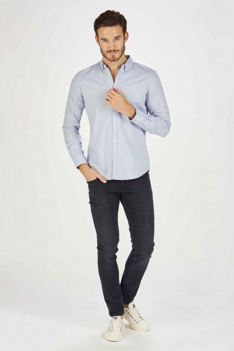 Tom Tailor Chemises (manches longues) bleu 1008320_15837 LIGHT BLU img2