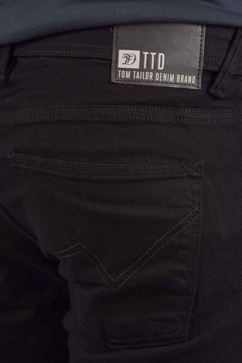 TOM TAILOR Jeans slim noir 1008451_10240 BLACK DEN img4
