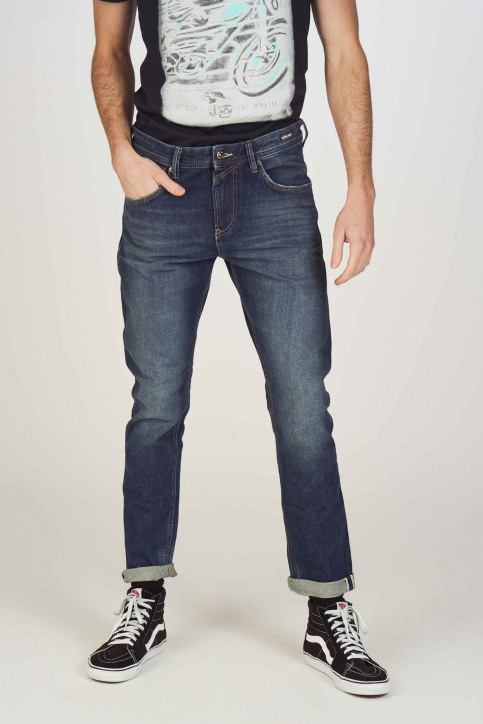 TOM TAILOR Jeans tapered denim 1008459_10136 DARK BLUE img1