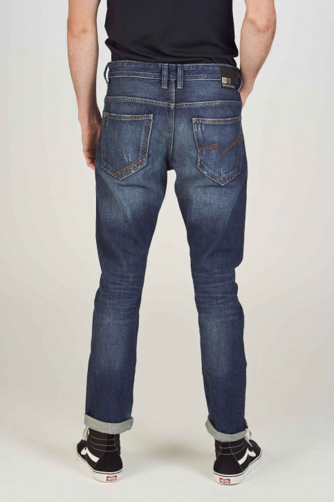 TOM TAILOR Jeans tapered denim 1008459_10136 DARK BLUE img3