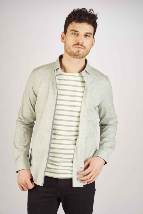 Tom Tailor Chemises (manches longues) vert 1008594_16229 PALE OLIV img1