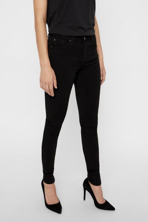 VERO MODA Jeans slim zwart 10158160_BA037BLACK img1