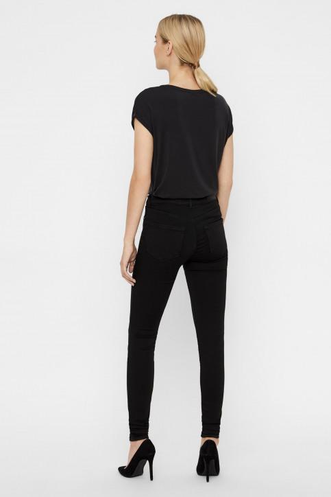 VERO MODA Jeans slim zwart 10158160_BA037BLACK img3