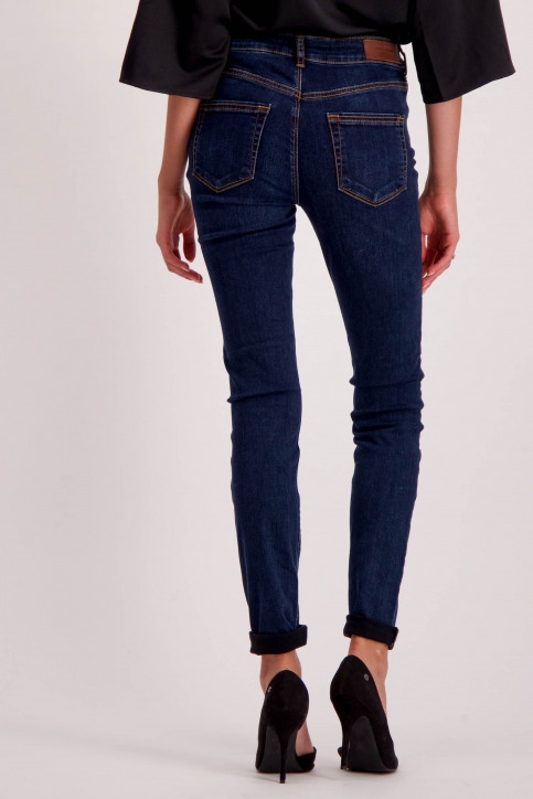 VERO MODA Jeans skinny denim 10158330_DARK BLUE DENIM img3