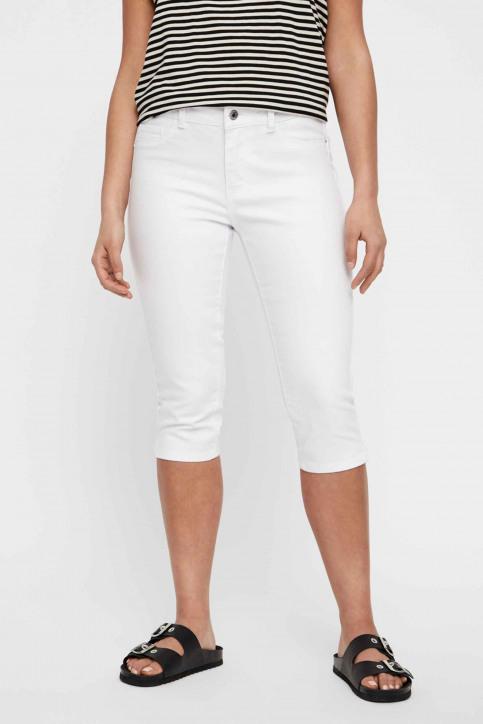 VERO MODA® Jeans 7/8 blanc 10193077_BRIGHT WHITE img1