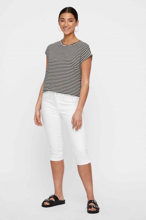 VERO MODA® Jeans 7/8 blanc 10193077_BRIGHT WHITE img5