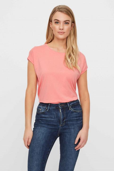 VERO MODA T-shirts (manches courtes) rose 10195724_TEA ROSE img1