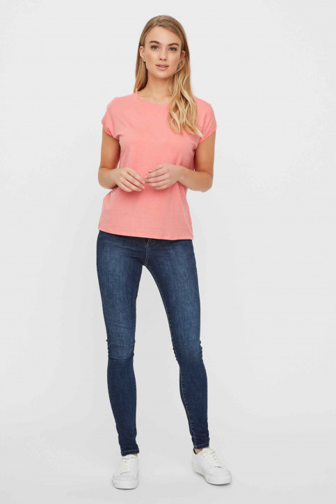 VERO MODA T-shirts (manches courtes) rose 10195724_TEA ROSE img2