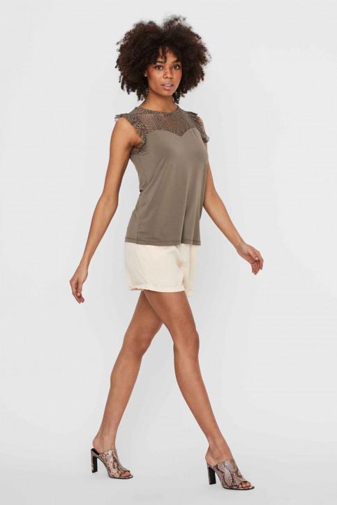 VERO MODA® Blouses (zonder mouwen) grijs 10196238_BUNGEE CORD img5
