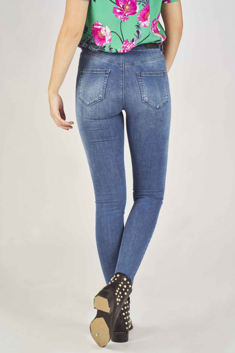 VERO MODA Jeans skinny denim 10207140_MEDIUM BLUE DEN img3