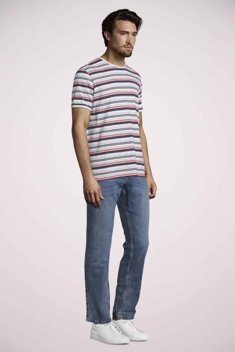 Tom Tailor T-shirts (korte mouwen) rood 1020894_15220 POWERFU R img2